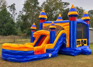 Melting Artic Bounce House Combo