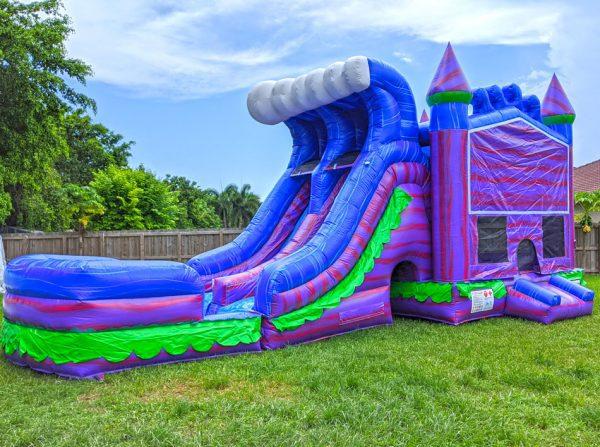 mermaid-dual-lane-bounce-house-with-slide