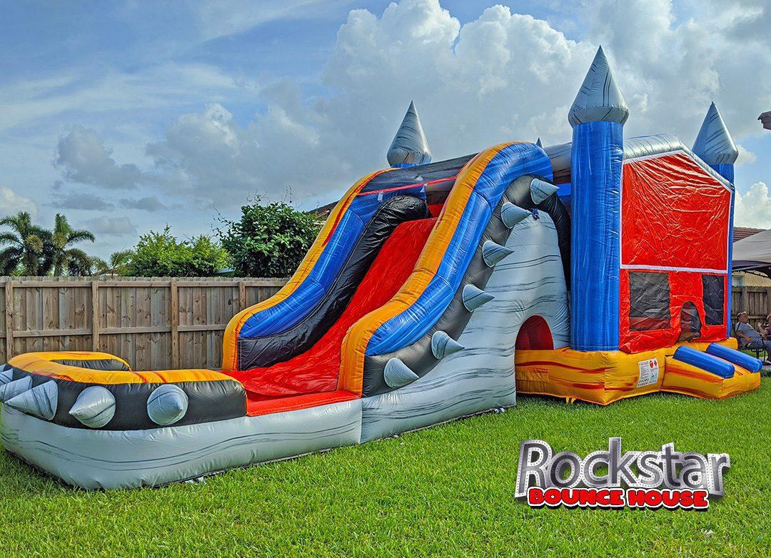 Rockstar Bounce House & WaterSlide