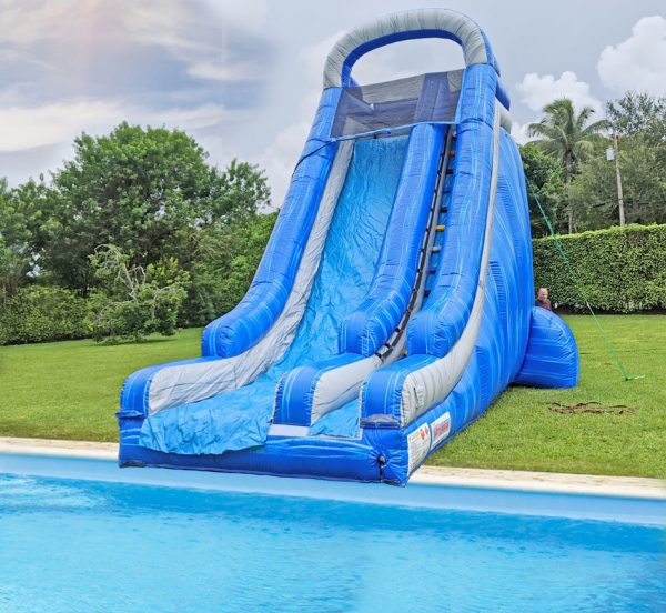 22ft water slide for ground pool