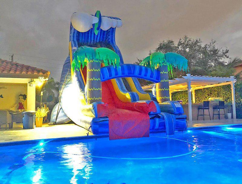 24ft Wild Waves Slide for Pools