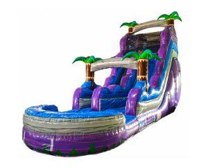 18ft purple crush water slide rental