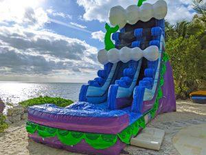 20ft mermaid water slide rental