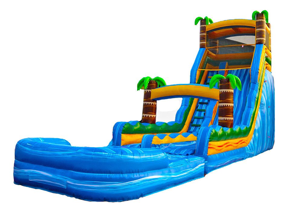 22ft Tropical Paradise Waterslide