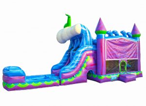 mermaid bounce house combo
