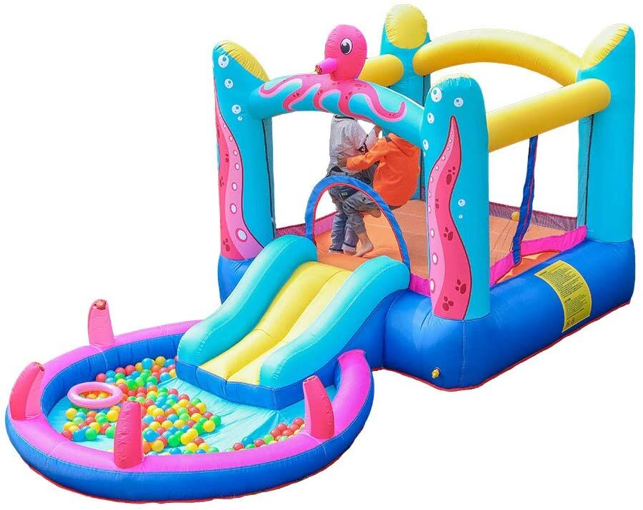 Toddler Octopus Bounce House