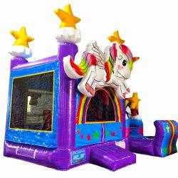 3D Unicorn Bounce HouseCombo