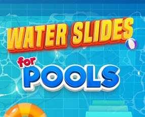 water slides rentals for pools